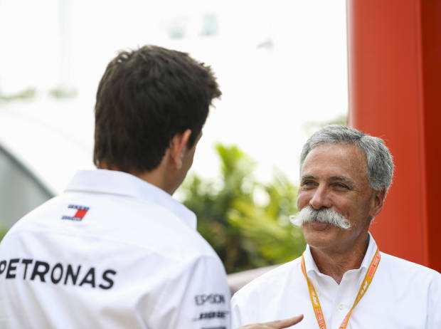 Toto Wolff, Chase Carey
