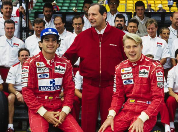 Ayrton Senna, Ron Dennis, Mika Häkkinen