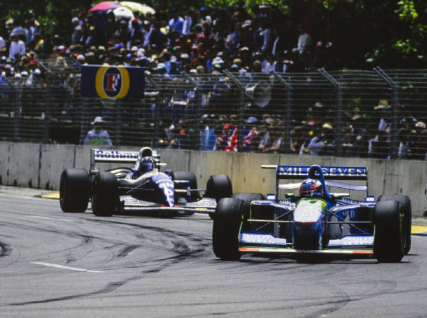 Michael Schumacher, Damon Hill