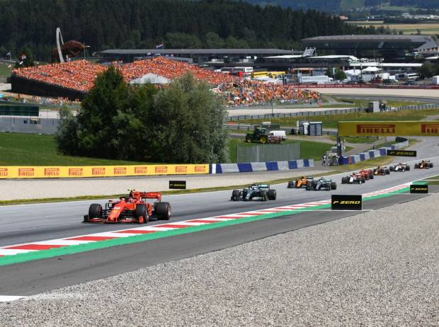 Charles Leclerc, Valtteri Bottas, Lewis Hamilton, Lando Norris, Kimi Räikkönen