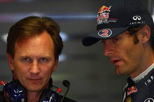 Christian Horner und Mark Webber