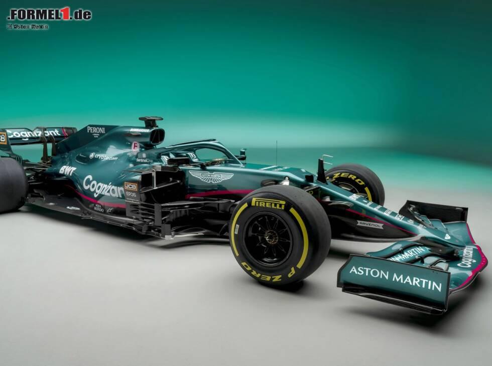 So Viel Raffinesse Steckt In Der Farbe Des Neuen Aston Martin Amr21 Formel1 De F1 News