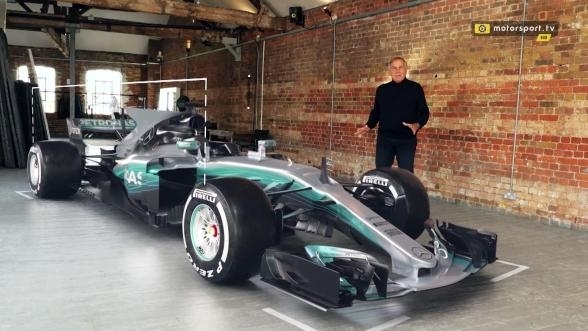giorgio piola erkl rt den mercedes f1 w08 technik. Black Bedroom Furniture Sets. Home Design Ideas