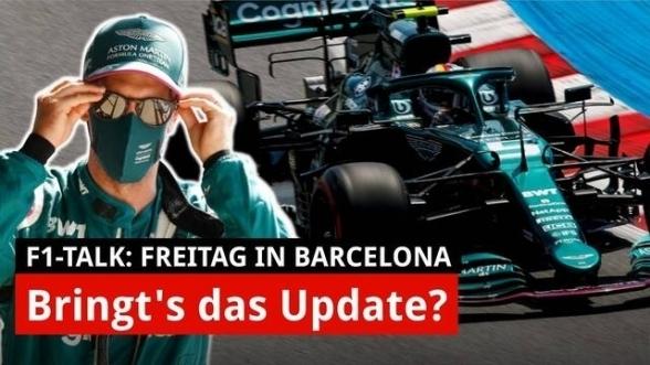 Vettel: Mit dem Aston-Update geht's voran!